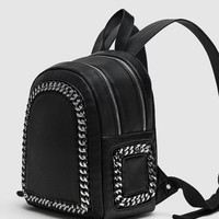 BACKPACK WITH CHAINSDETAILS