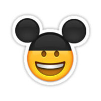 Mickey Mouse Emoji Sticker by EmojiThis