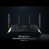 Asus RT-AC88U Wireless AC3100 Dual-Band Gigabit Router, AiProtection with Trend Micro for Complete Network Security
