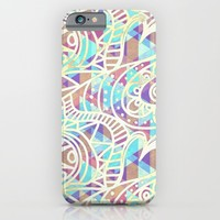 Abstract Love - for iphone iPhone & iPod Case by Simone Morana Cyla