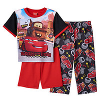 Disney's Cars Lightning McQueen & Mader 3-pc. Pajama Set