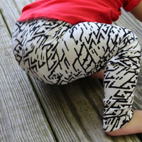Off White baby leggings, newborn leggings,baby boy pants, baby girl leggings,baby boy leggings, kids clothing, baby outfits