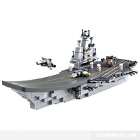 Aircraft Carrier Creative Set - Lego Compatible