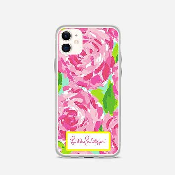 Lilly Pulitzer First Impression Rose Inspired iPhone 11 Case