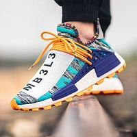 Pharrell X Adidas NMD Human Popular Women Men Casual Sport Shoes Sneakers