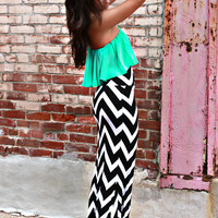 Like A Million Bucks Maxi Skirt