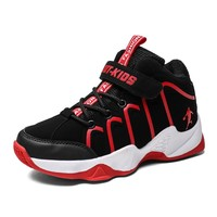 2018 New Arrival Boys Shoes Basketball Kids Sport Shoes Outdoor Children Red Gold Sneakers for Boys