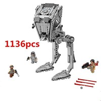 Star Wars Force Episode 1 2 3 4 5 [hot] Legoings   Bricks Set Legoing  AT-ST Walker  Building Blocks Toys AT_72_6