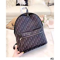Dior 2019 new personality men and women models wild outdoor sports backpack #3