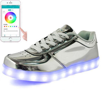 LED Light Up Trainers Men with App Control