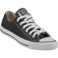 Converse Women's Chuck Taylor All-Star Sneaker Black Leather - Jildor Shoes, Since 1949