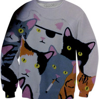 Cats Sweater