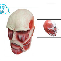 """Attack on Titan: """"Cosplay - Colossal Titan Mask (Rubber) 30cm"""" : TokyoToys.com: UK Based e-store, Anime Toys Retail, Manga Action Figures, Japanese Snacks, Pocky, DVDs, Gashapon, Cosplay, Monkey Shirt, Final Fantasy, Bleach, Naruto, Death Note, Wall Scroll"""