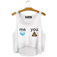 Me and You Crop Top