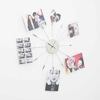 Memo Holder Clock - Urban Outfitters