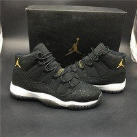 Air Jordan 11 Retro Black Basketball Sport Running Shoe Sneakers I