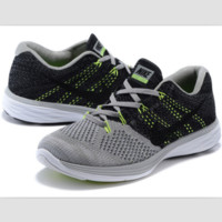 NIKE woven casual shoes light running shoes Gray-green black