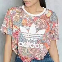 adidas Originals Short Sleeve Top Tee T-Shirt