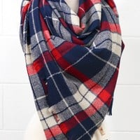 Fireside Cozy Blanket Scarf (MORE COLORS)