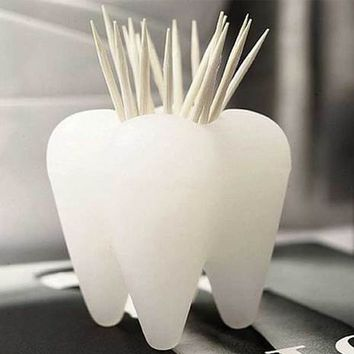 Pick A Tooth Toothpick Holder