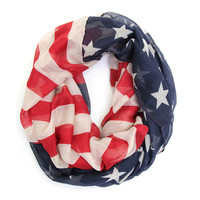 GRAND OLE FLAG INFINITY SCARF – LaRue Chic Boutique