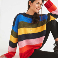 UO Kari Oversized Striped Sweater | Urban Outfitters