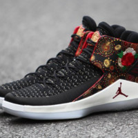 Air Jordan 32 'CNY' Black/University Red/White-Metallic Gold For Sale