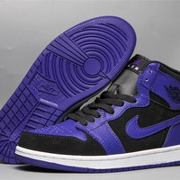 Air Jordan 1 Retro Og Hg - Black/purple | Best Online Sale