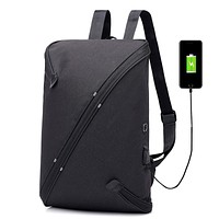 Anti Theft USB Charge Travel Security Backpack