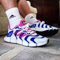 Adidas Climacool Vento Fashion Men Women Casual Sport Running Shoes Sneakers Blue&Pink&White