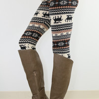 Dancing Donner Reindeer Leggings