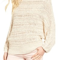 Leith Off the Shoulder Sweater | Nordstrom