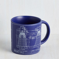 Sci-fi Simply Dalek-table Mug by ModCloth