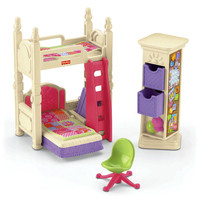 Loving Family Deluxe Décor Kids Bedroom - Fisher-Price Online Toy Store