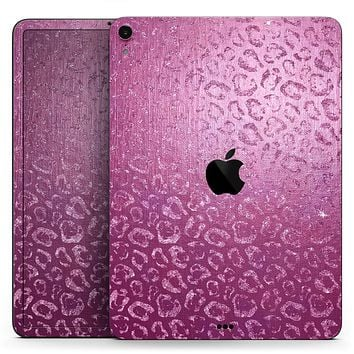 """Glamorous Pink Cheetah Print - Full Body Skin Decal for the Apple iPad Pro 12.9"""", 11"""", 10.5"""", 9.7"""", Air or Mini (All Models Available)"""