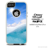 The Sunny Day Waves Skin For The iPhone 4-4s or 5-5s Otterbox Commuter Case