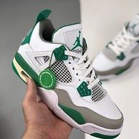 Nike Air Jordan 4 Retro Pine Green Basketball Shoes Sneakers