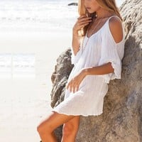 New Summer Style White Women Swimwear Cover-up Beach Cover Ups Swimsuit Bathing Suit