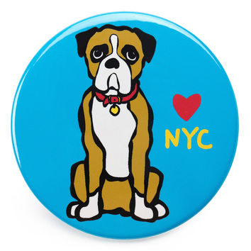 NYC Boxer Magnet