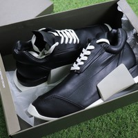 Best Online Sale Rick Owen x Adidas Level Runner Low Boost Black S81141