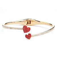 kate spade new york yours truly pavé crystal cuff | Nordstrom