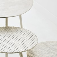 METAL TABLE WITH RAISED DOTS - FURNITURE - DECOR | Zara Home United States of America