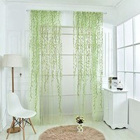Living Room Bedroom Tulle Drapes Home Decoration Curtain