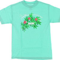 DGK Above Constant Elevation Tee XLarge mint