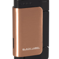 Black Label Burgandy Copper Torch Flame Lighter