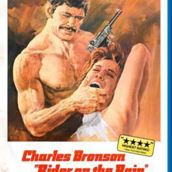 "Rider On The Rain Charles Bronson poster 24""x36"""