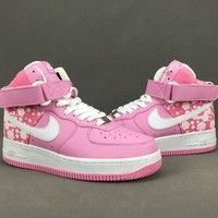 Women's NIKE AIR FORCE 1 Hi-top shoes cheap nike shoes 029