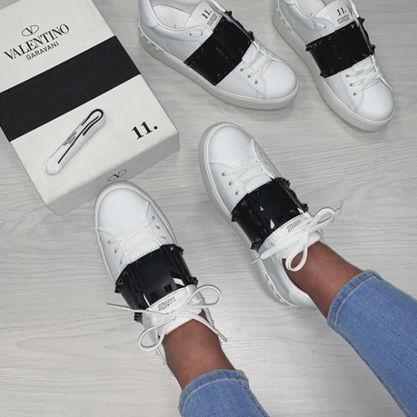 Image of Valentino Rivet casual sports shoes