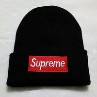 """Supreme"" Winter Knit Hats [9361196743]"
