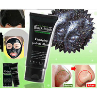 New Deep Cleansing Purifying Peel Off Mud Blackhead Face Mask Black Mask Remove Black Head Makeup Beauty